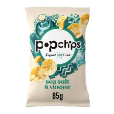 Popchips Sea Salt And Vinegar Chips 85G