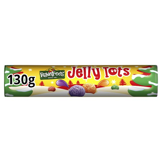 Rowntrees Jelly Tots Tube 130G