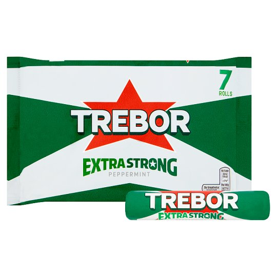 image 1 of Trebor Extra Strong Mints 7 Rolls 219.8G