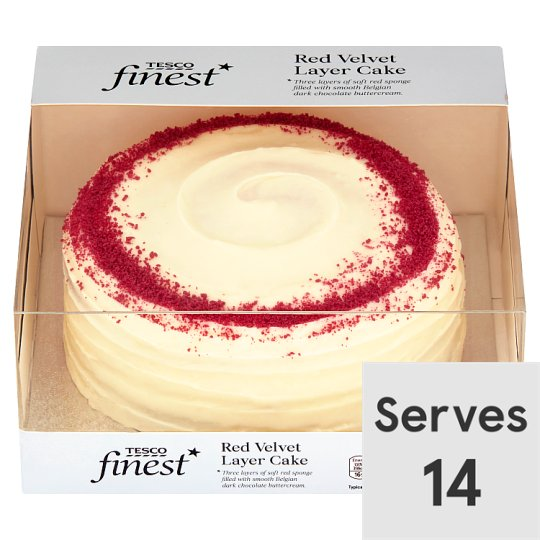 Cake With Photo Tesco : Tesco Finest Red Velvet Cake - Groceries - Tesco Groceries