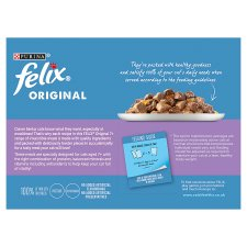 image 2 of Felix Pouch Senior Mixed Selection In Jelly 12X100g