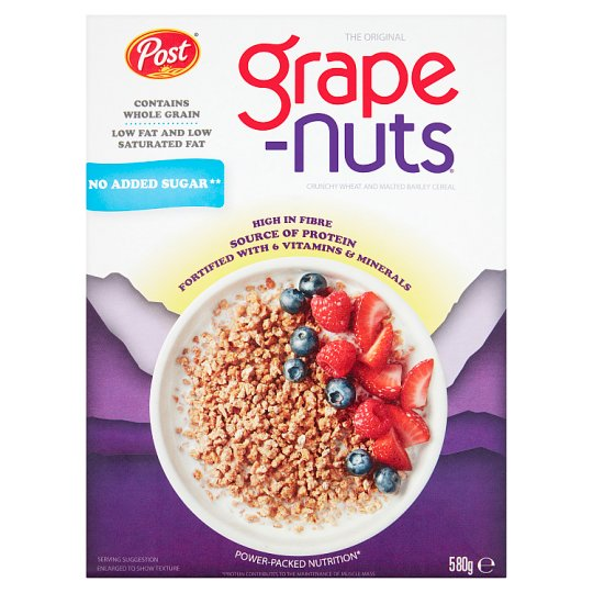 Post Grape Nuts Cereal 580G