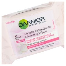 image 2 of Garnier Micellar Face Wipes Sensitive