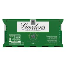 image 2 of Gordon's With Schweppes Gin And Tonic 10X250ml