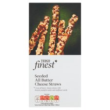 Tesco Finest Seeded All Butter Cheese Straws 100G