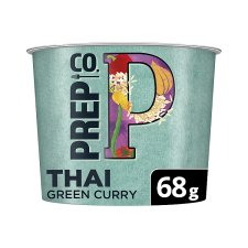 Prepco Thai Green Curry Rice And Quinoa 68G