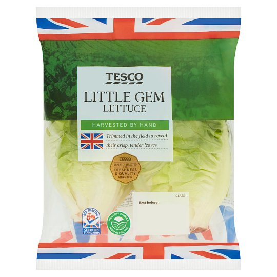 Tesco Little Gem Lettuce Twin Pack