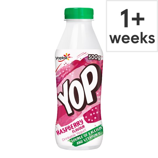 Yop Raspberry Flavoured Yoghurt Drink 500 G