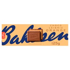 Bahlsen Leibniz Chocolate Orange Biscuits 125G