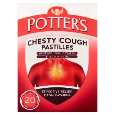 Potters Chesty Cough 20 Pastilles
