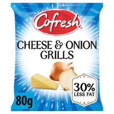 Cofresh Cheese And Onion Flavour Potato Grills 80G