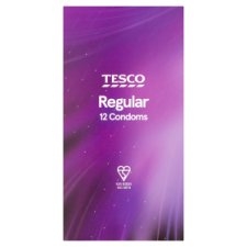Tesco Sequre Regular Condoms 12S