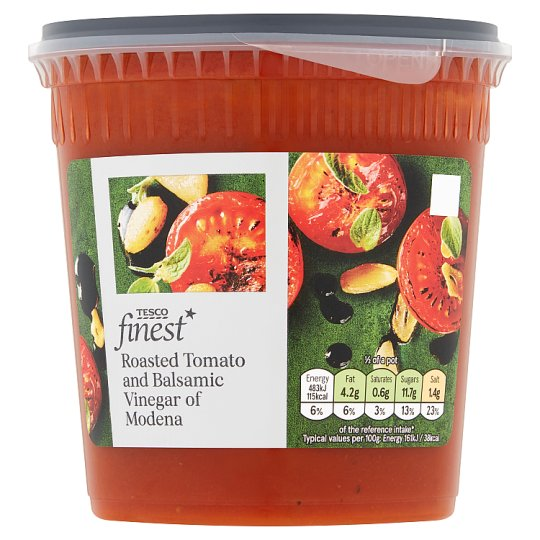 Tesco Finest Tomato And Balsamic Soup 600G