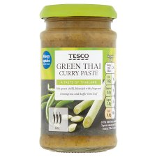 Tesco Thai Green Curry Paste 200G