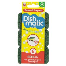 Dishmatic General Purpose Refills 6 Pack