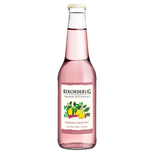 Rekorderlig Rhubarb Lemon Mint Cider 330Ml Bottle