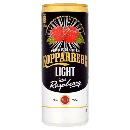 Kopparberg Raspberry Light 250Ml Can