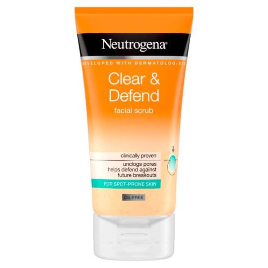 Neutrogena Visibly Clear Smoothing Scrub 150Ml