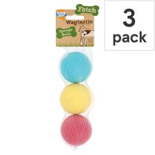 image 1 of Good Boy Sponge Balls Dog Toy 3 Pack