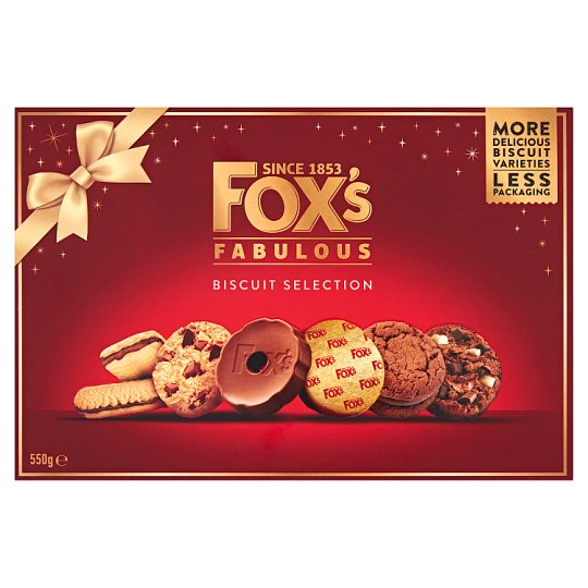 Fox's Fabulously Biscuit Selection 550G
