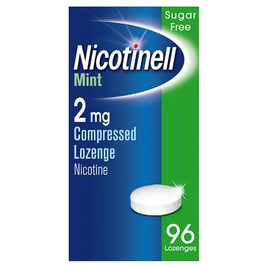 image 1 of Nicotinell Mint Lozenge 2Mg 96S