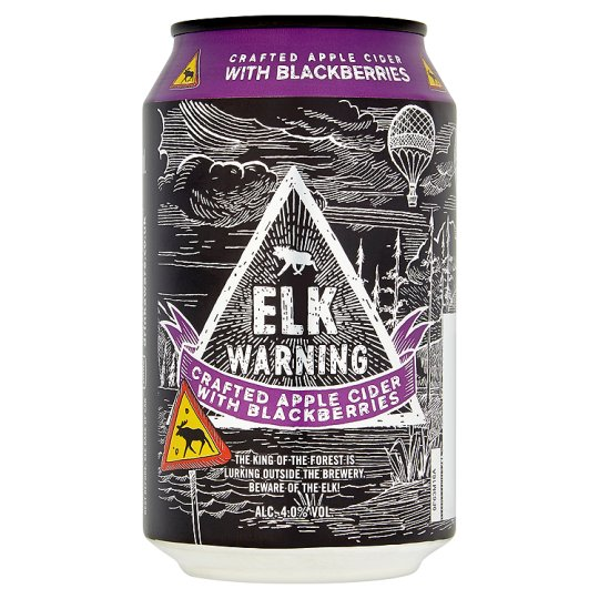 Elk Warning Blackberry Cider 330Ml