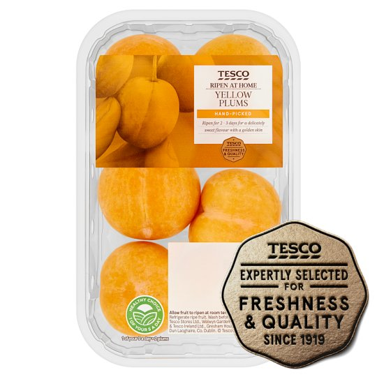 Tesco Yellow Plums 300G