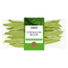 Tesco Stringless Beans 180G