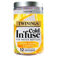 Twinings Cold Infuse Lemon Orange And Ginger 30G