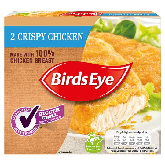 Birds Eye 2 Crispy Chicken 180G