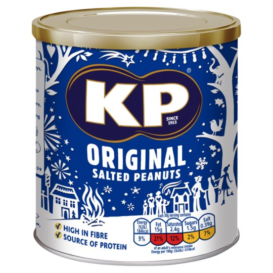 image 1 of Kp Original Salted Peanuts 375G