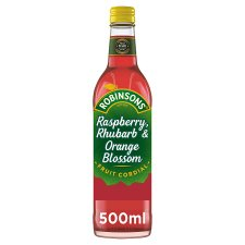 Robinson Cordial Raspberry Orange & Rhubarb 500Ml