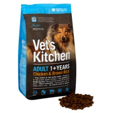 Vets Kitchen Adult Dog Chicken And Brown Rice 1.3 Kilograms