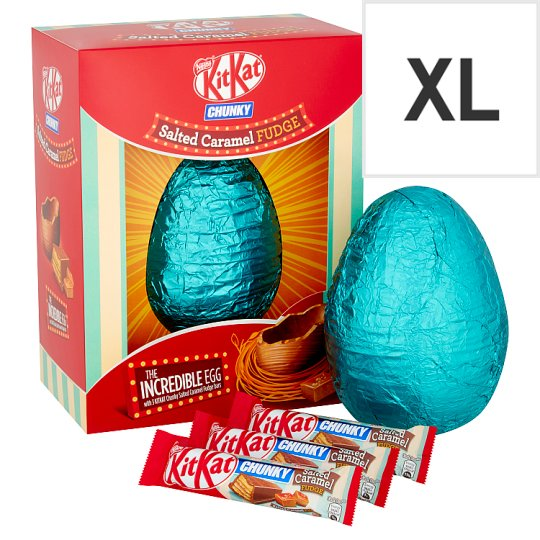 image 1 of Nestle KitKat Salted Caramel Giant Egg 516G