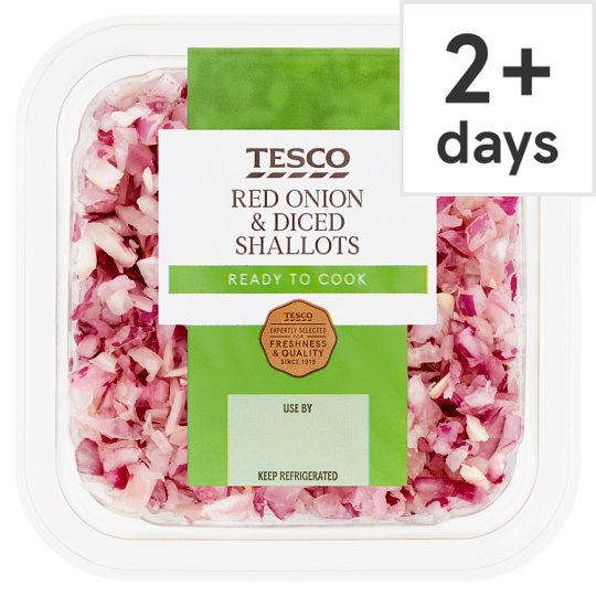 image 1 of Tesco Micro Chopped Shallot And Red Onion 180G