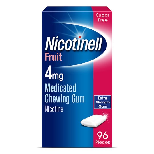 Nicotinell Fruit Gum 4Mg 96S
