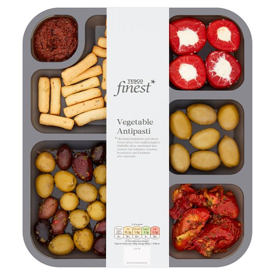 Tesco Finest Vegetable Antipasti 300G