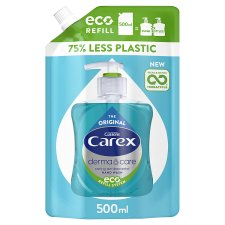 Carex Original Pure Blue Handwash Refill 500Ml