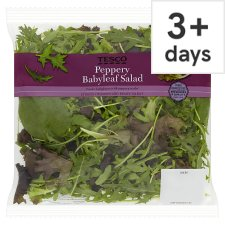 Tesco Peppery Babyleaf Rocket Salads 90G