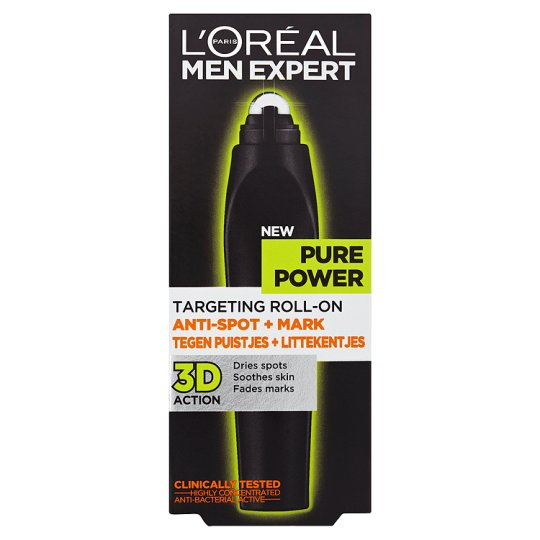 Loreal Men Pure Power Targeting Roll On 10Ml