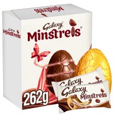 Galaxy Minstrels Easter Egg And Chocolate 262G