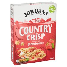 Jordans Country Crisp Strawberry Cereal 500G