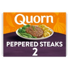 Quorn Meat Free Peppered Steaks 2 Pack, 196G