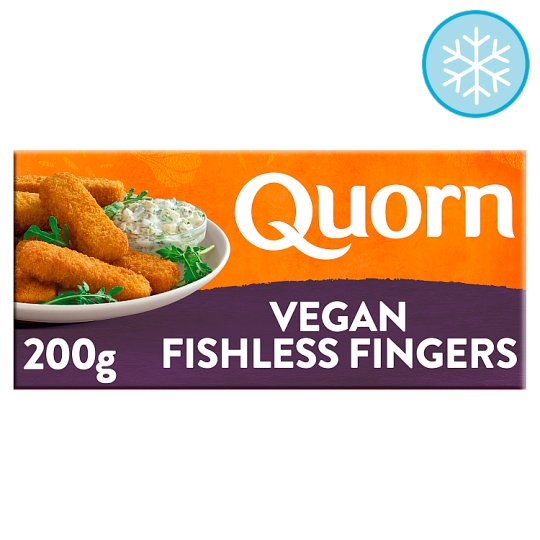 Quorn Vegan Fishless Fingers 10 Pack 200G