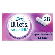 Lillets Non Applicator Tampons Super Plus Extra 28S
