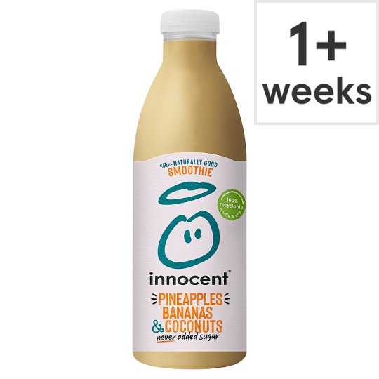 Innocent Pineapple Banana Coconut Smoothie 750Ml