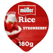 Muller Rice Strawberry Dessert 180G