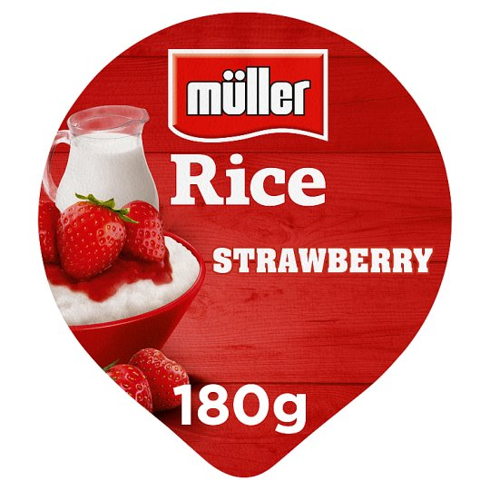 Muller Rice Strawberry 180G