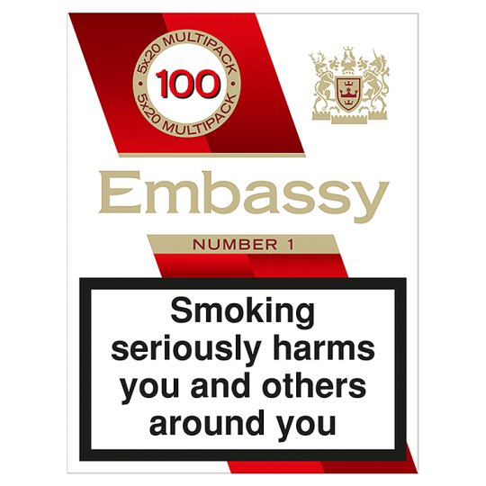 Embassy No.1 King Size 100 Pack