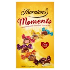image 1 of Thorntons Moments Chocolates Carton 250G